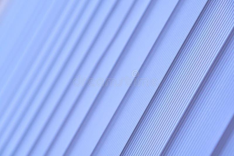 Голубые шторки вертикали Мягкий селективный фокус стоковая фотография rf