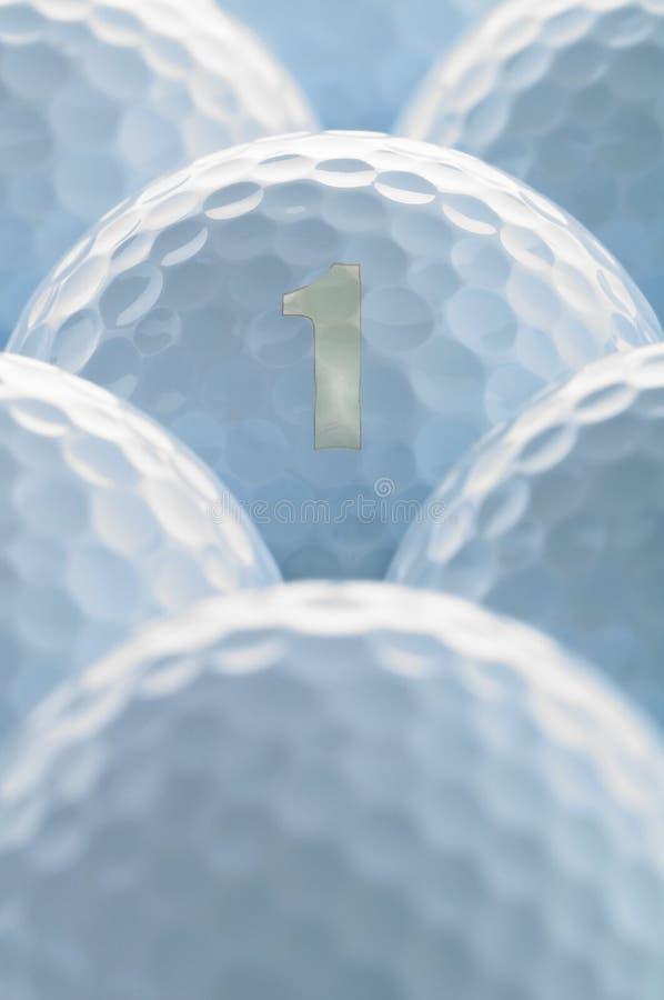 гольф шарика ударяя движение утюга стоковая фотография