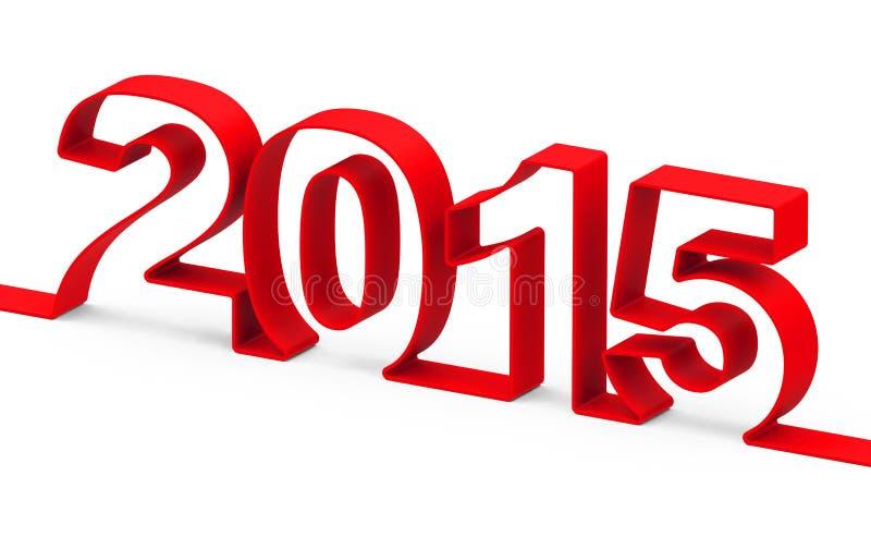 Год 2015 стоковые фото