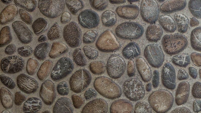 Гравий облицовывает конкретную предпосылку текстуры стоковые фотографии rf