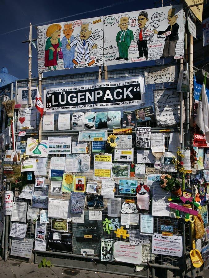 гражданский протест стоковые изображения