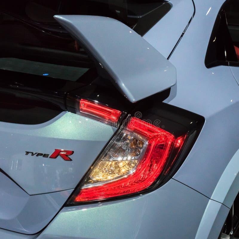 гражданский тип Хонда r стоковое изображение
