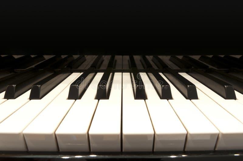 грандиозная белизна рояля ключей стоковые фото