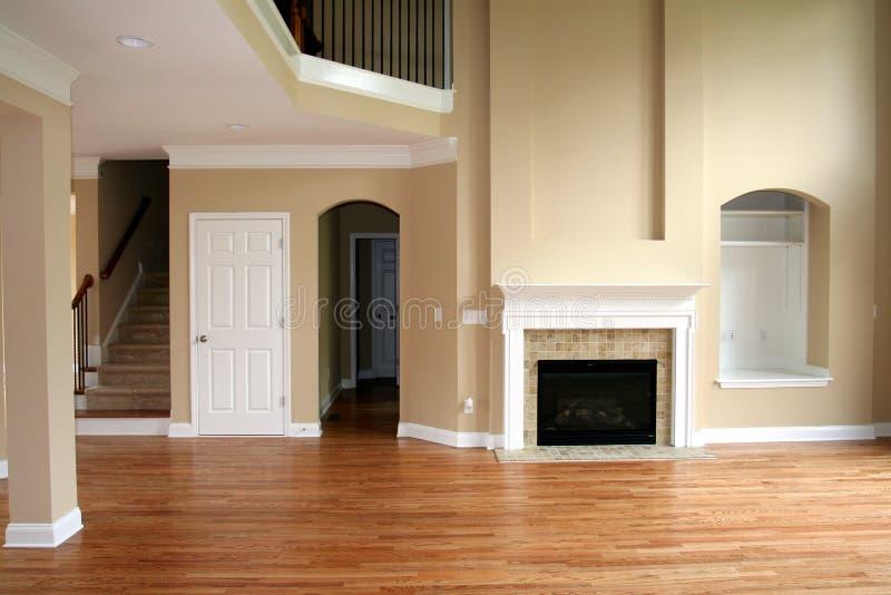 грандиозная живущая комната стоковое фото rf