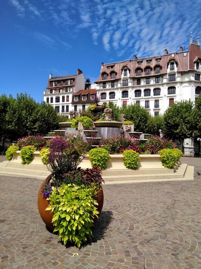Грандиозное казино Cercle, AIX-les-bains auvergne-RhÃ'ne-Alpes стоковые изображения rf