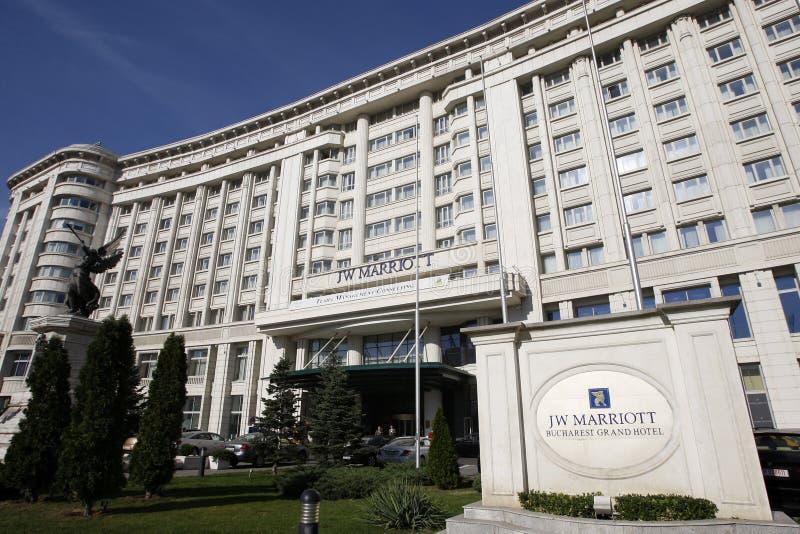 грандиозное marriott jw гостиницы стоковая фотография