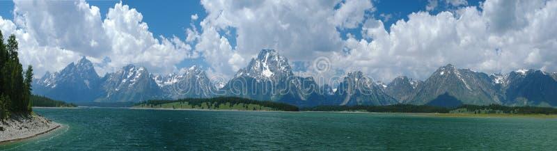 грандиозное teton национального парка стоковая фотография