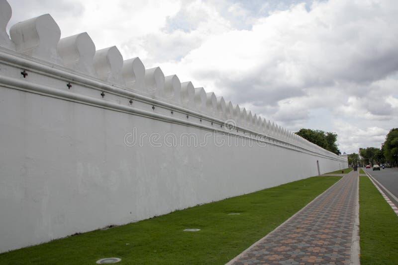 Грандиозные стены дворца стоковое изображение