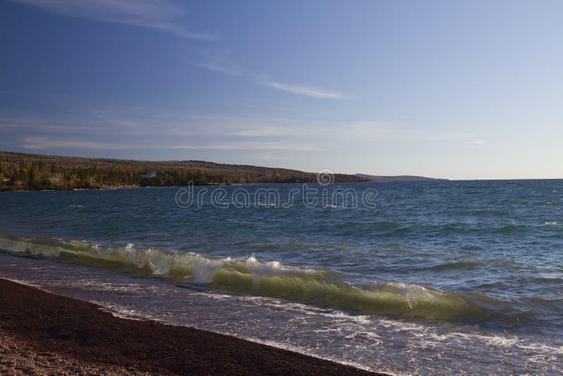 грандиозные marais озера главные стоковое изображение