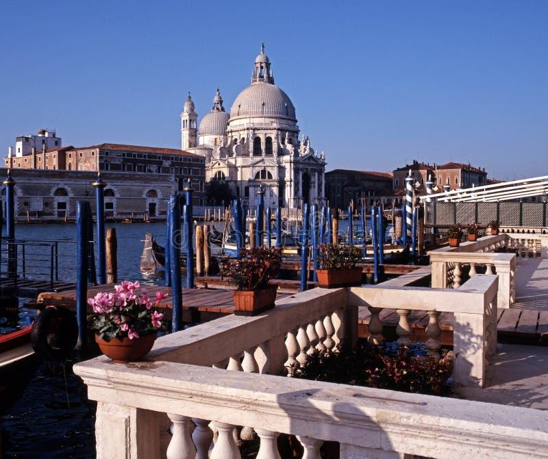 Грандиозный канал, Венеция, Италия. стоковое фото rf