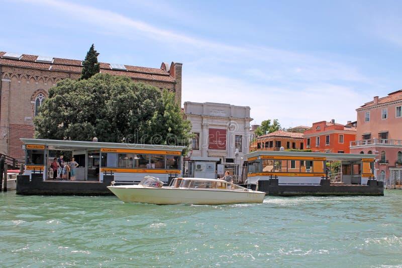 Грандиозный канал в Венеции Италии стоковое изображение rf