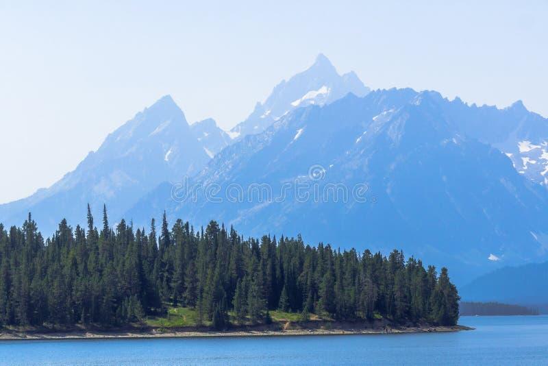 Грандиозный национальный парк Teton, WY, США стоковая фотография