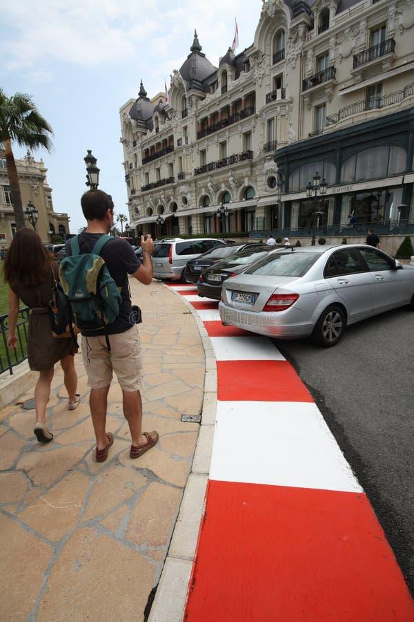 грандиозный след prix подготовки 2011 f1 стоковое изображение