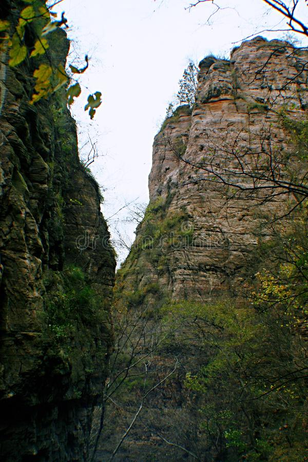 Гранд-каньон Yangshao стоковое изображение