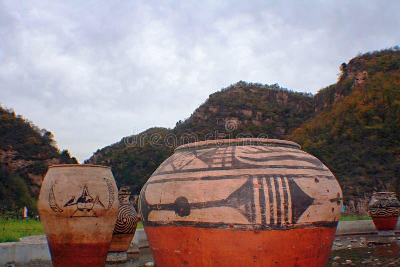 Гранд-каньон Yangshao стоковые изображения rf