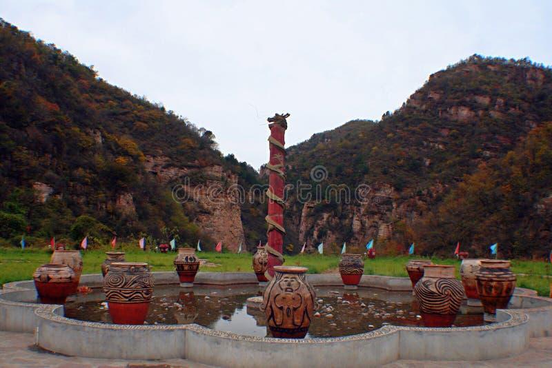Гранд-каньон Yangshao стоковая фотография