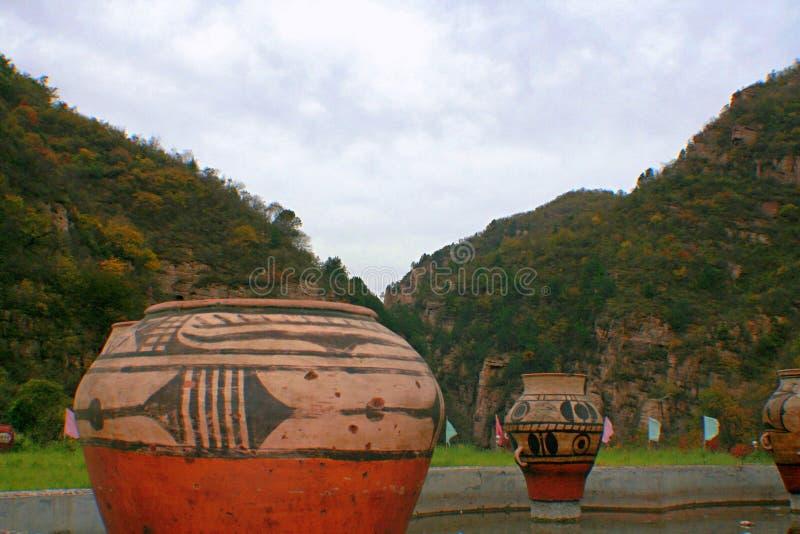 Гранд-каньон Yangshao стоковое фото rf