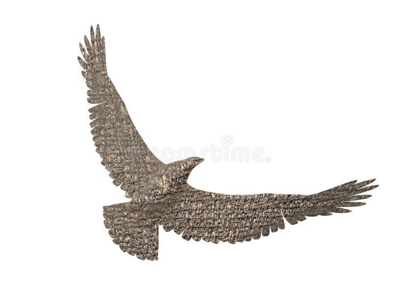 гранит орла Стоковое Изображение RF