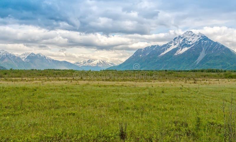 Граница Аляски стоковая фотография rf