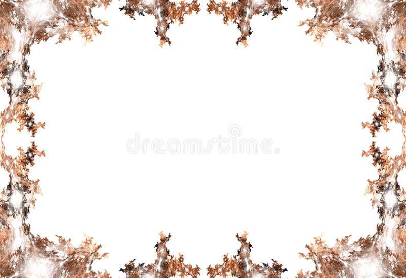 Граница - листья осени стоковые фото