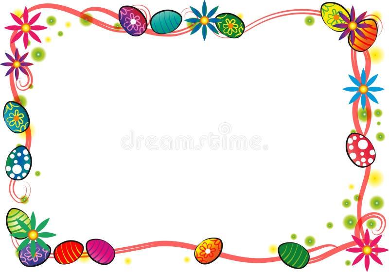 граница пасха счастливая бесплатная иллюстрация