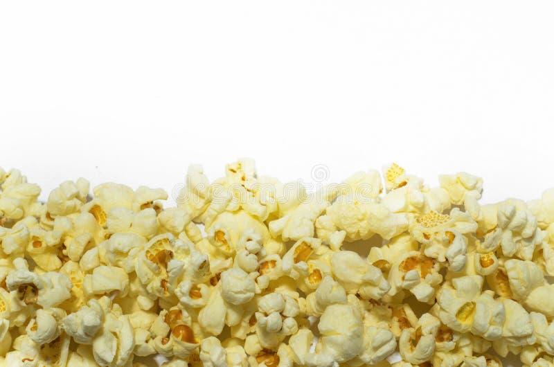 Граница попкорна стоковая фотография