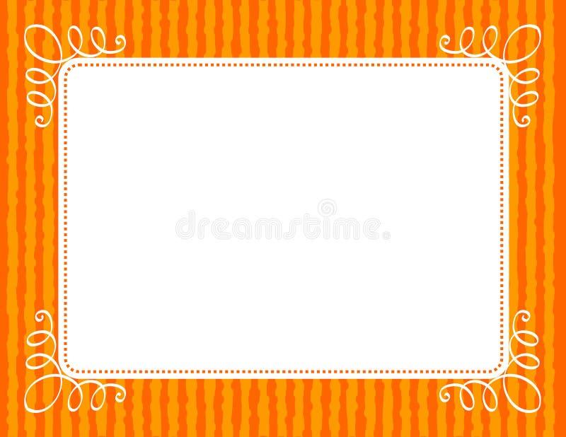 Граница/рамка приглашения иллюстрация вектора