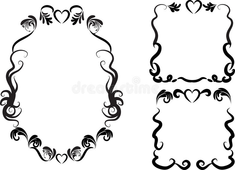 Граница /frame вектора иллюстрация штока