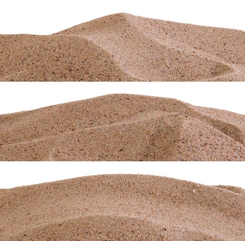 Границы песка стоковые фото