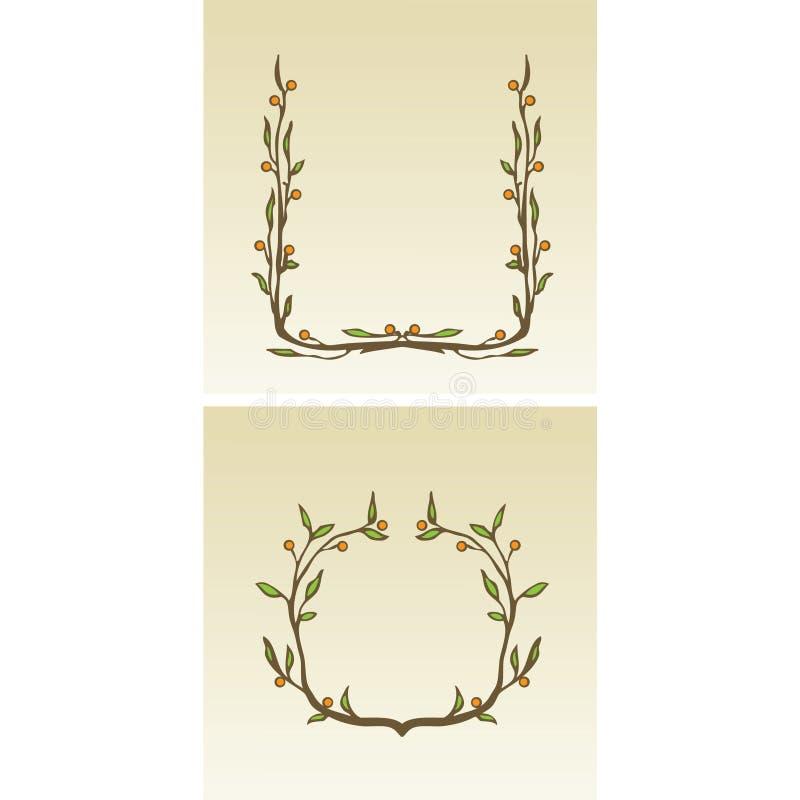 граничит декоративный цветок бесплатная иллюстрация