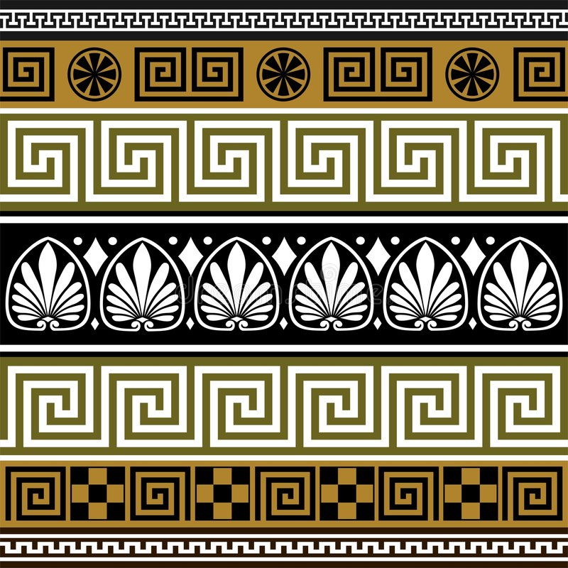 граничит комплект грека иллюстрация штока