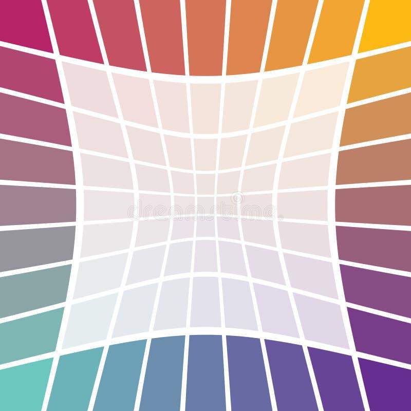 граничьте радугу иллюстрация вектора