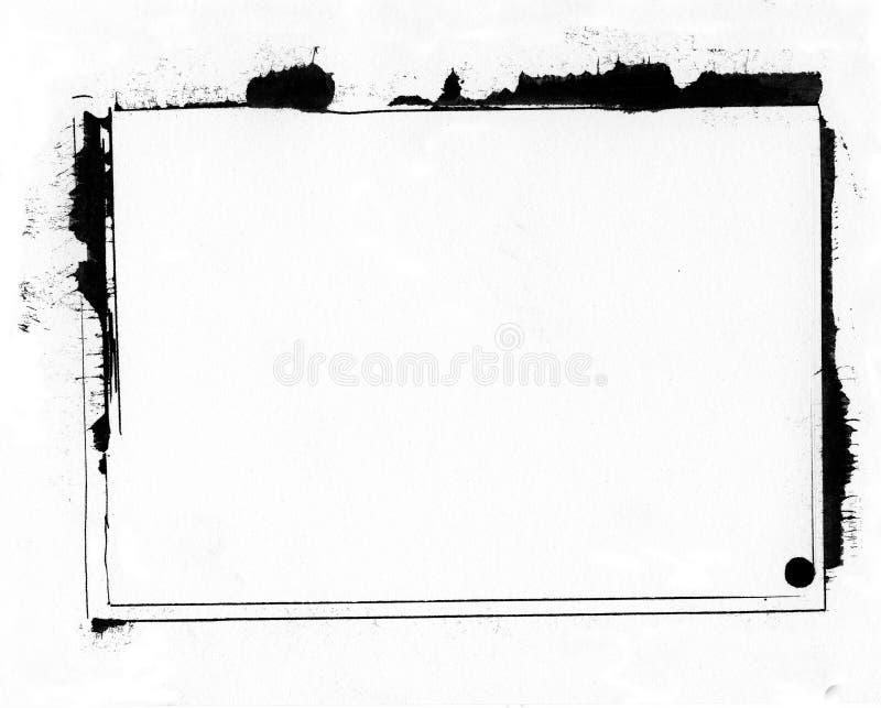 граничьте grunge бесплатная иллюстрация