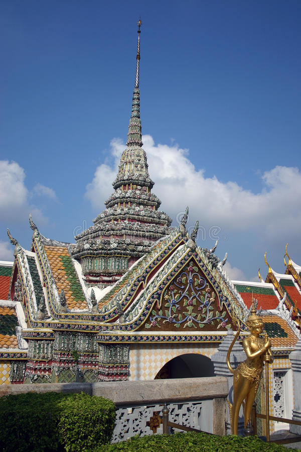 Грандиозный дворец Бангкок 4 стоковая фотография rf
