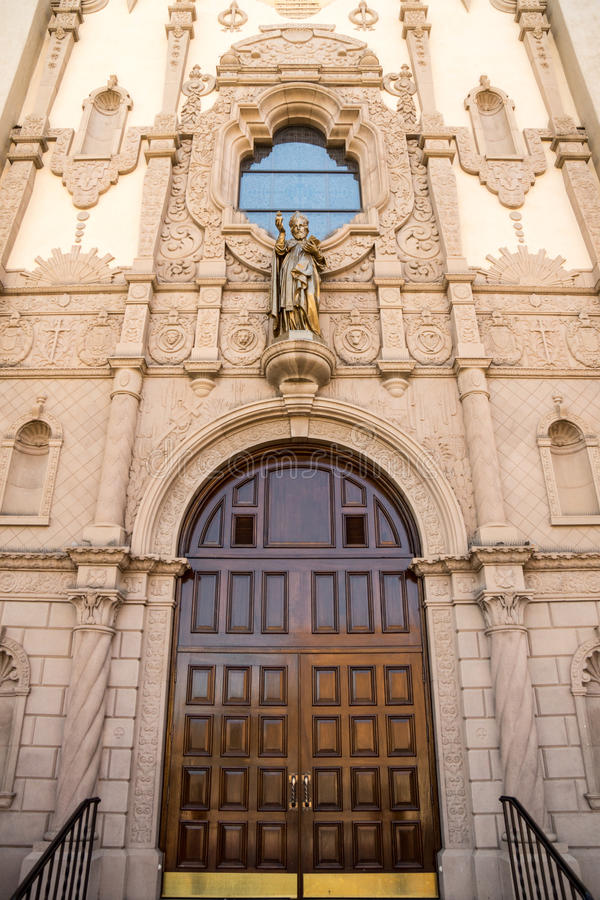 Грандиозный вход к собору St Augustine стоковое фото rf