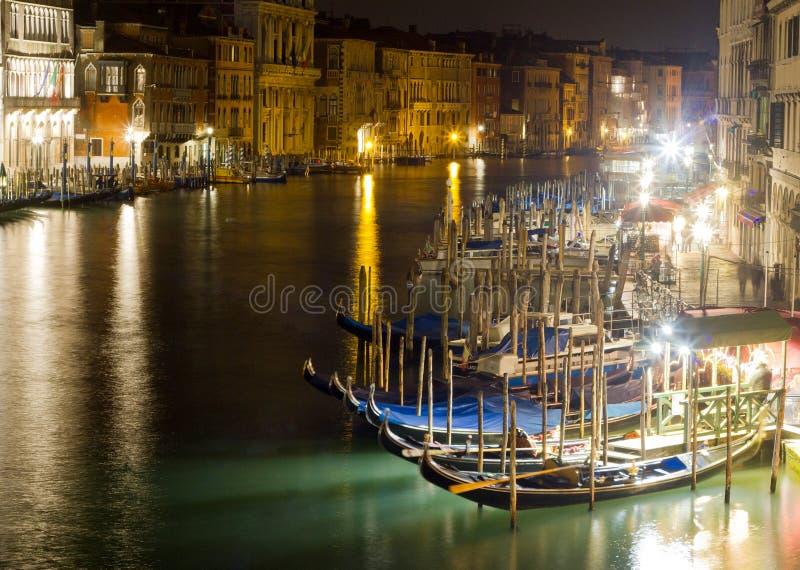 Грандиозный канал в Венеции стоковое фото rf