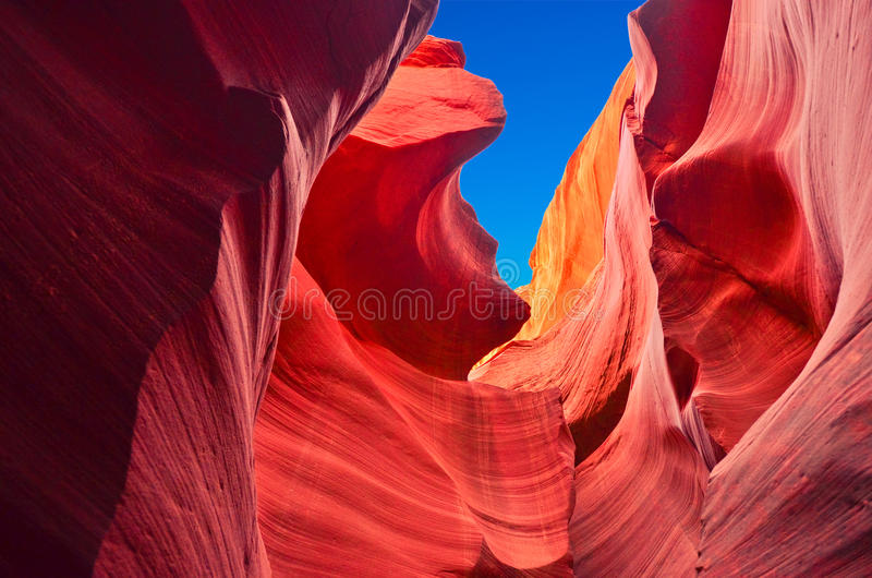 Ландшафт США, грандиозный каньон. Аризона, Юта, Соединенные Штаты Америки стоковые фотографии rf