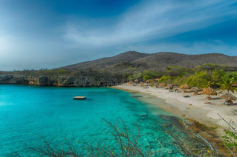 Грандиозный пляж Knip стоковые фотографии rf