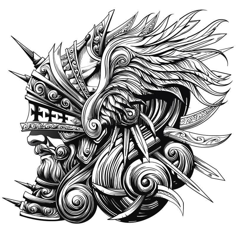 Грандиозный рыцарь бесплатная иллюстрация