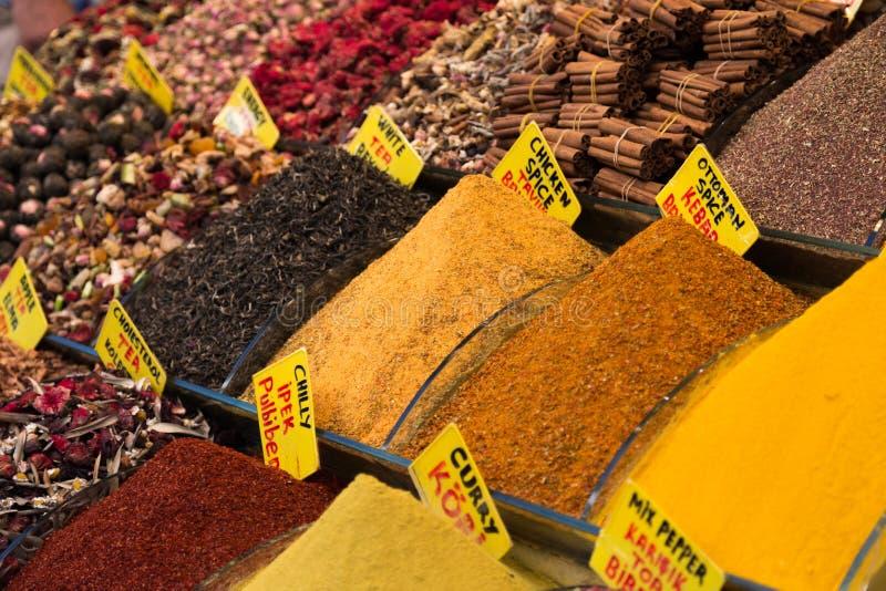 Грандиозный bizzaar рынок специи стоковое фото