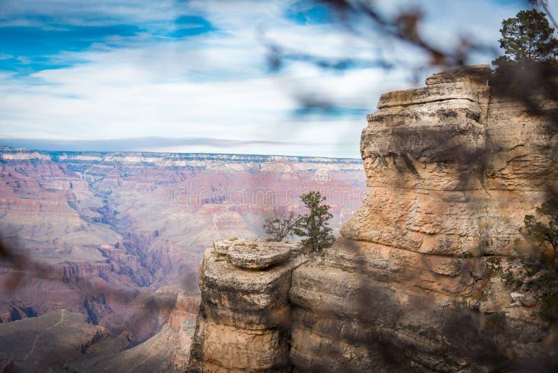 Гранд-каньон, южная оправа, США стоковая фотография rf
