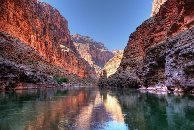 Гранд-каньон Refelctions стоковое фото rf