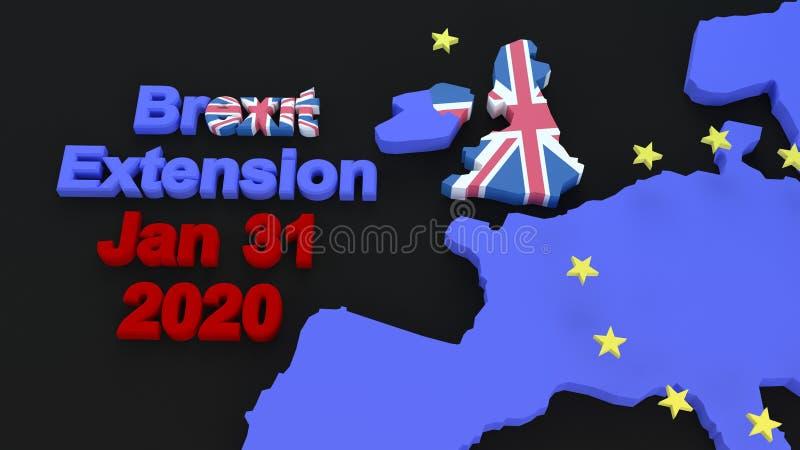 Графика Brexit стоковое фото rf