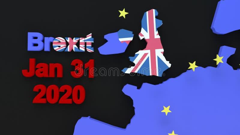 Графика Brexit стоковые изображения