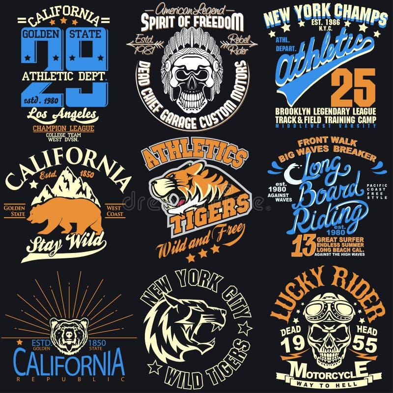 Графики футболки Нью-Йорка бесплатная иллюстрация