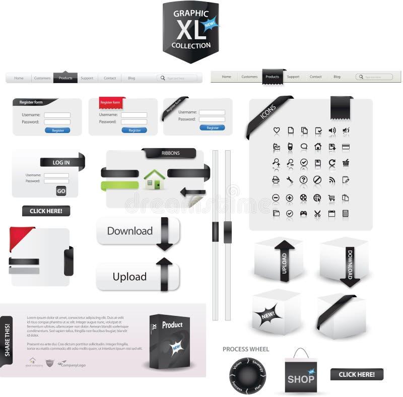 графики xl собрания бесплатная иллюстрация