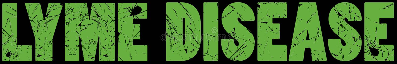 График заболеванием Lyme иллюстрация штока