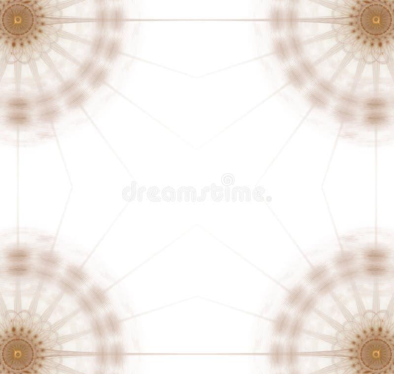 график золота диска 4 углов иллюстрация штока
