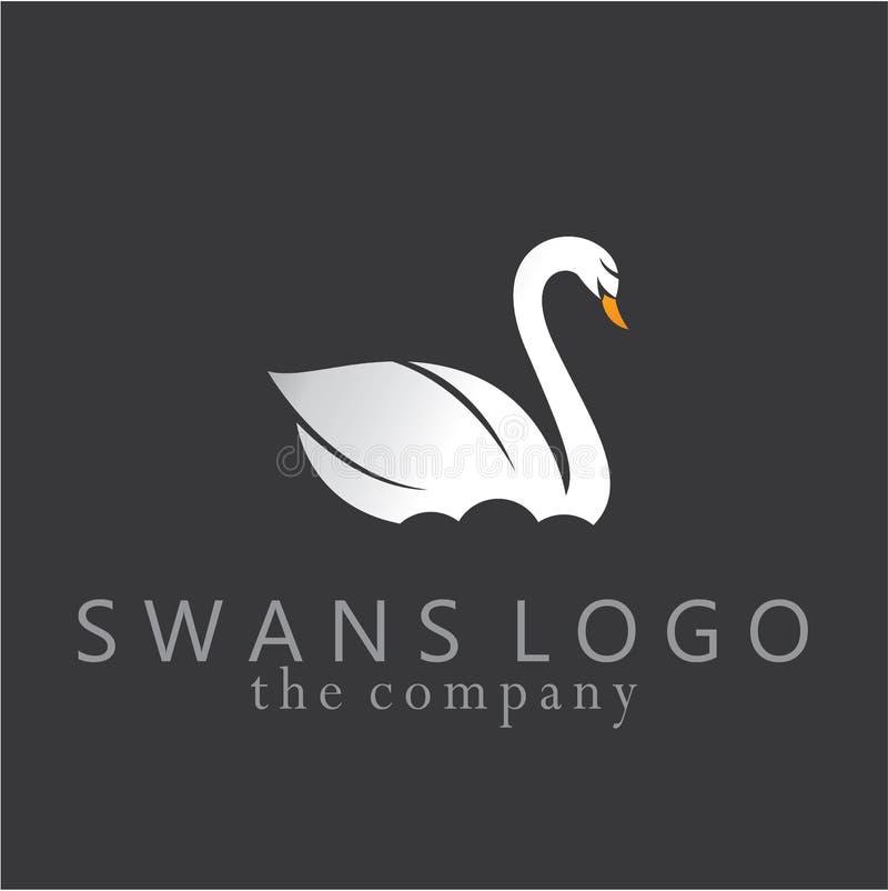 График иллюстрации дизайна идей лебедей иллюстрация штока