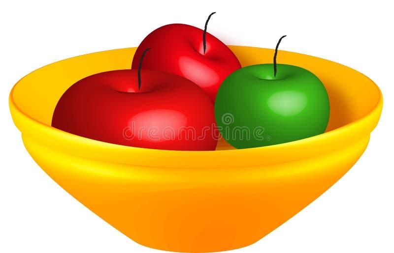 график шара яблок стоковое изображение rf